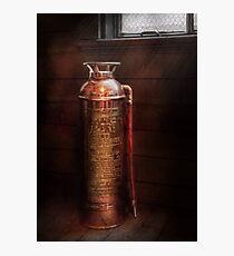 Fireman - Alert  Photographic Print