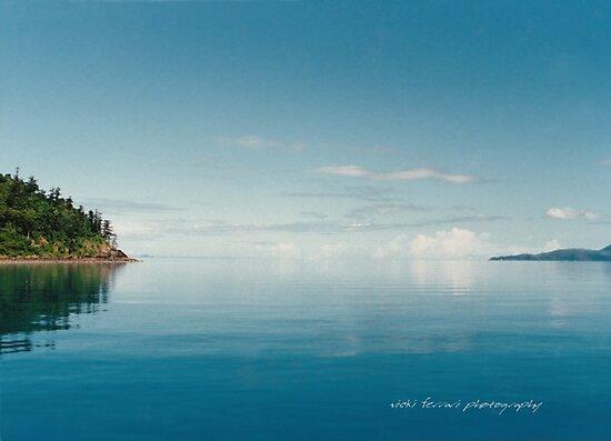 Coral Sea Glass Whitsunday Passage © Vicki Ferrari by Vicki Ferrari