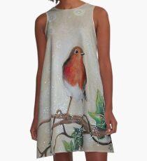 Robin Redbreast A-Line Dress