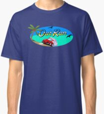 OUT RUN - SEGA ARCADE 80s LOGO Classic T-Shirt