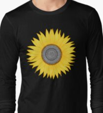 Mandala Sunflower Long Sleeve T-Shirt