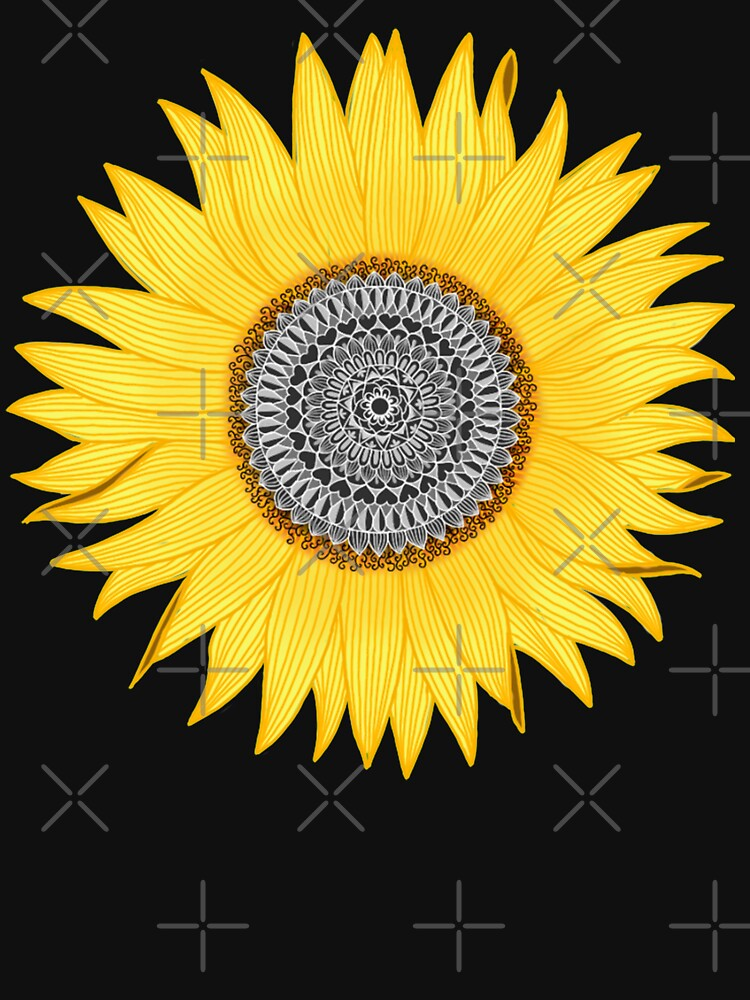 Mandala-Sonnenblume von paviash