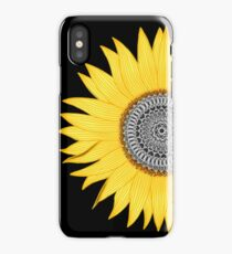 Mandala Sunflower iPhone Case/Skin