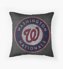 nats cool design Throw Pillow
