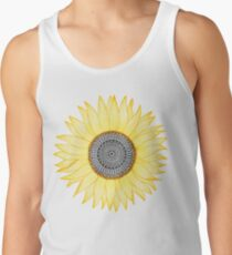 Golden Mandala Sunflower Men's Tank Top