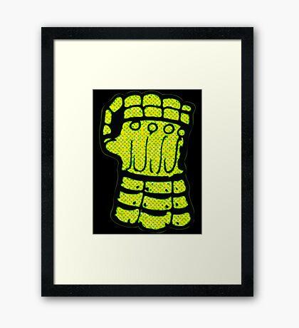 Fist of Power Framed Print