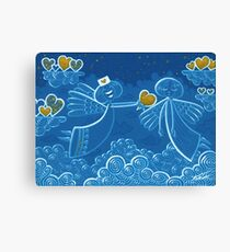 Angel therapy Canvas Print