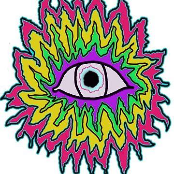 Acid Eyeball by Voodoo-Matsu