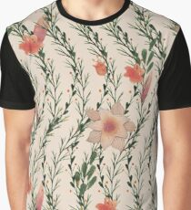 Flower Growth Graphic T-Shirt