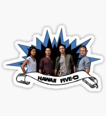 Hawaii five 0 team Sticker