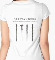 MAKERS OF WANDS Women's Fitted Scoop T-Shirt