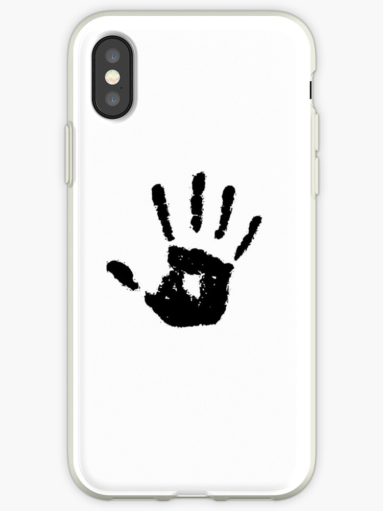 The Elder Scrolls Dark Brotherhood Symbol Black Iphone Cases