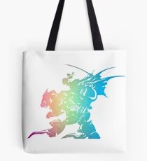 ° FINAL FANTASY ° Final Fantasy VI Rainbow Logo Tote Bag