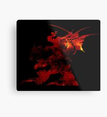 ° FINAL FANTASY ° Final Fantasy VI Space Logo Metal Print