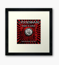 WHITESNAKE TOURS 2 Framed Print