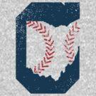 Cleveland Ohio Baseball by Patrick Brickman