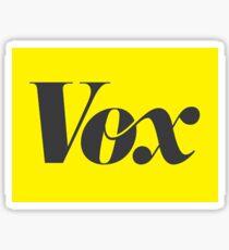 Vox News Logo Sticker