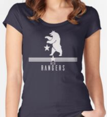 New California Republic Rangers Women's Fitted Scoop T-Shirt