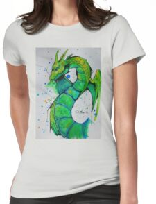 Thunder Dragon (Yu-Gi-Oh!) Womens Fitted T-Shirt