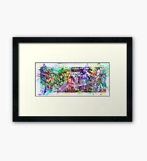 United States of Stuff Framed Print
