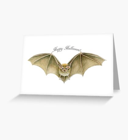 Happy Halloween! (Going Batty) Greeting Card