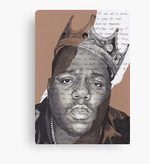 Notorious B.I.G. - Juicy Canvas Print