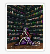 The Ghoul in the Study Sticker
