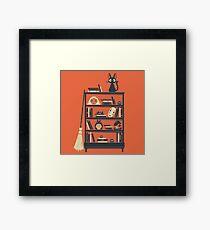 Ghibli shelf Framed Print