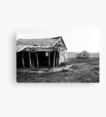 Old Bodie Barn Canvas Print