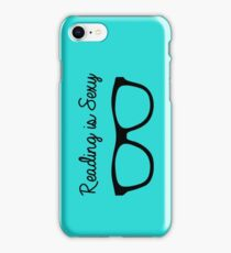 Reading is the New Sexy iPhone Case/Skin