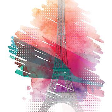 Eiffel Tower by Quadj