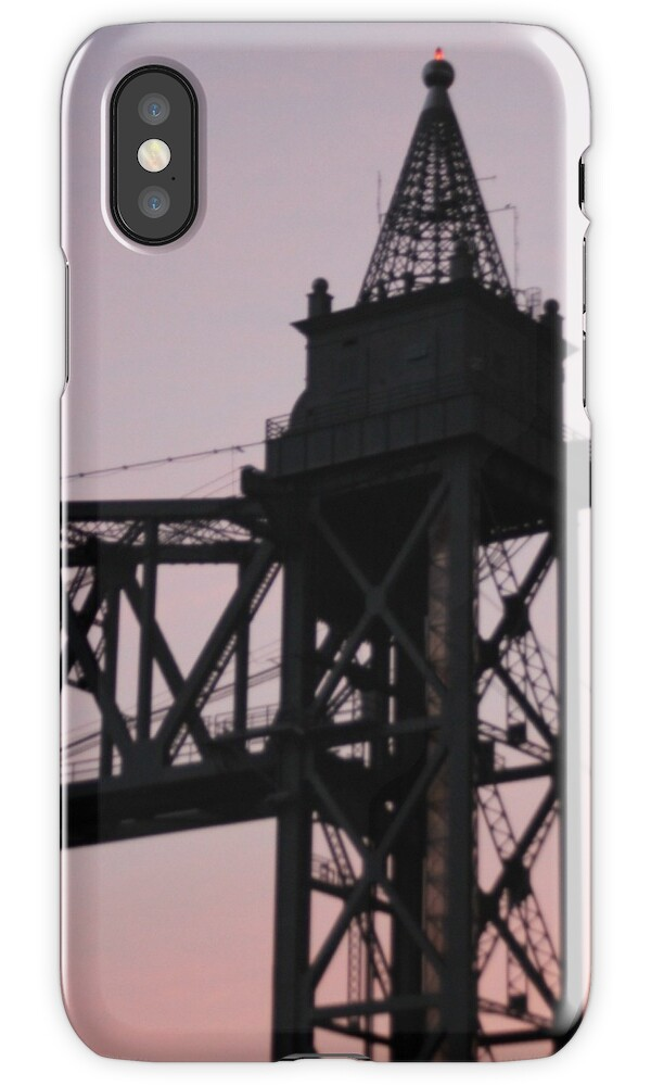 Cape cod canal train bridge iphone cases skins by for Case modello cape cod