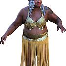 Sexy Belly Dancer Hula Girl by hilda74