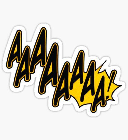 AAAAAAAA! Sticker