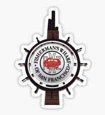 Wharf Sticker Sticker
