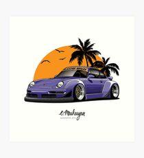 Lámina artística RWB 993 (púrpura)
