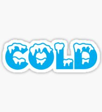 COLD Sticker