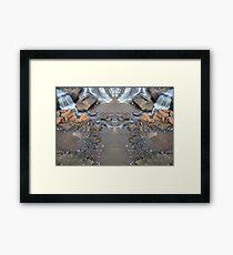 Mirror Falls Framed Print