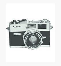 Canonet QL17 Photographic Print