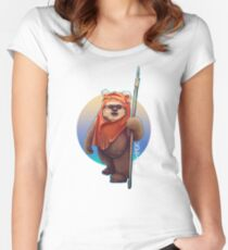 Ewok Women's Fitted Scoop T-Shirt