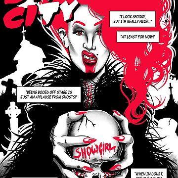 Drag City - Sharon Needles by GillesBone