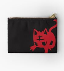 Litten Red Studio Pouch