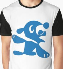 Popplio Blue Graphic T-Shirt