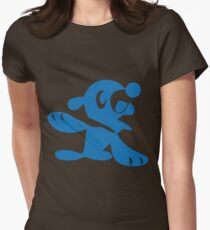 Popplio Blue Women's Fitted T-Shirt