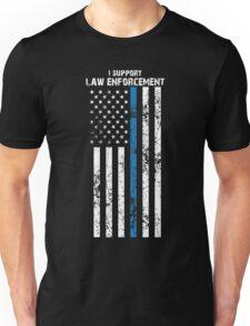 Law Enforcement Flag Unisex T-Shirt
