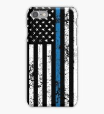 Law Enforcement Flag iPhone Case/Skin