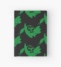 Rowlet Green Hardcover Journal