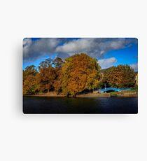 Autumn In York  Canvas Print