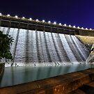Dam at night by kawing921