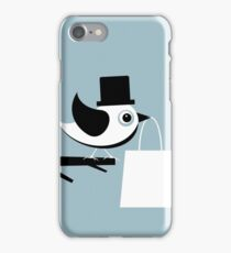 Bird with a package iPhone Case/Skin